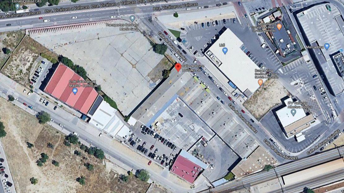 Solar alquiler venta Madrid Vallecas
