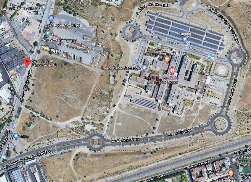 Solar venta alquiler Madrid Vallecas